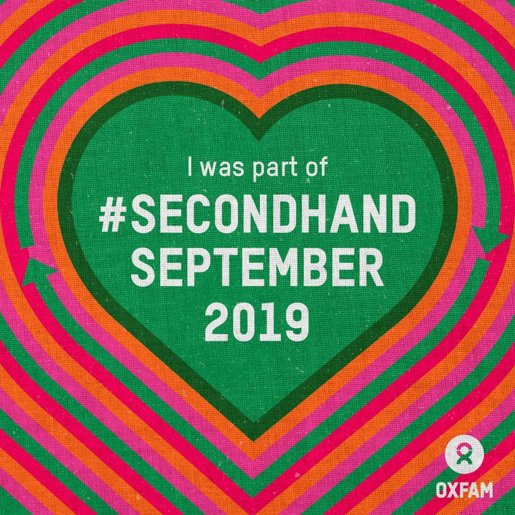 Second Hand September - Oxfam
